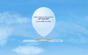 let somethign go
