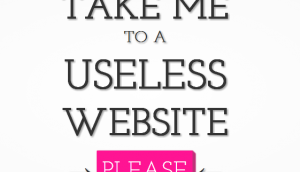 useless web