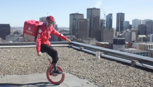 foodora unicyclist1