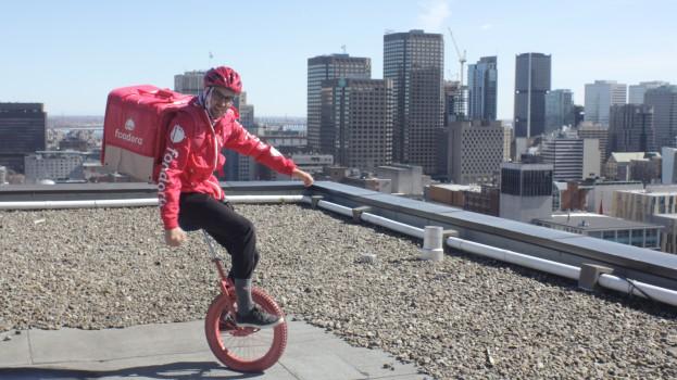 foodora unicyclist1