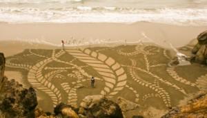 sandpainting