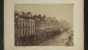 King St. circa 1860