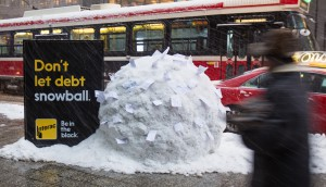 Snowball at King St. and University Ave.