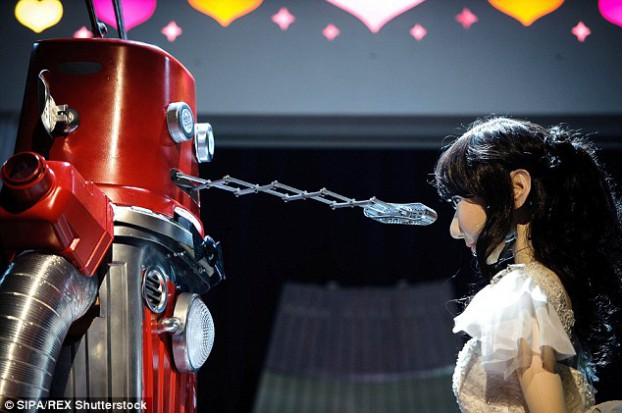 robot wedding1