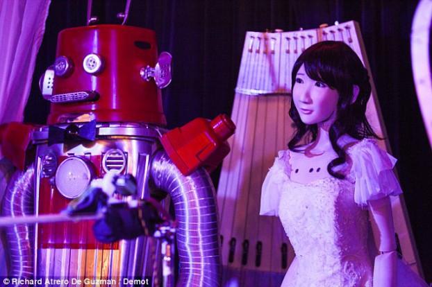 robot wedding2