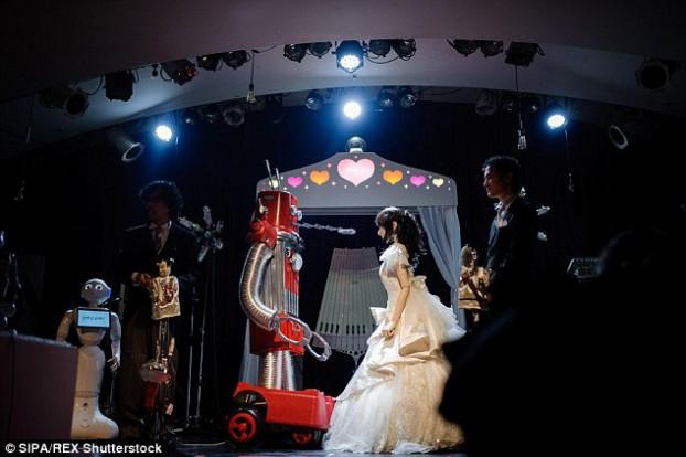 robot wedding5