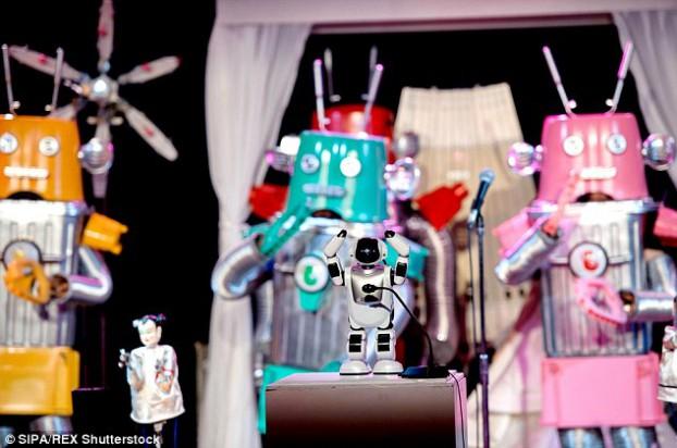 robot wedding6