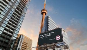 Canada Goose Billboard FRONT