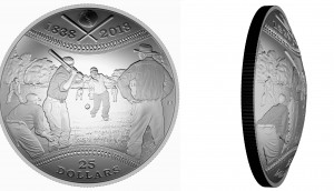 curved coin