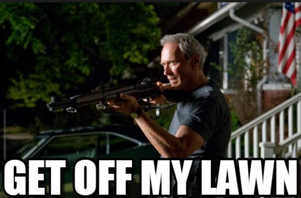 Get off Doris' lawn! » Stimulant