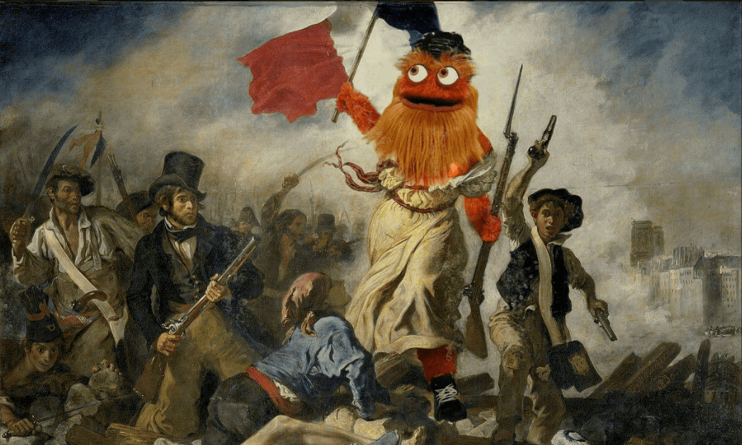 french gritty