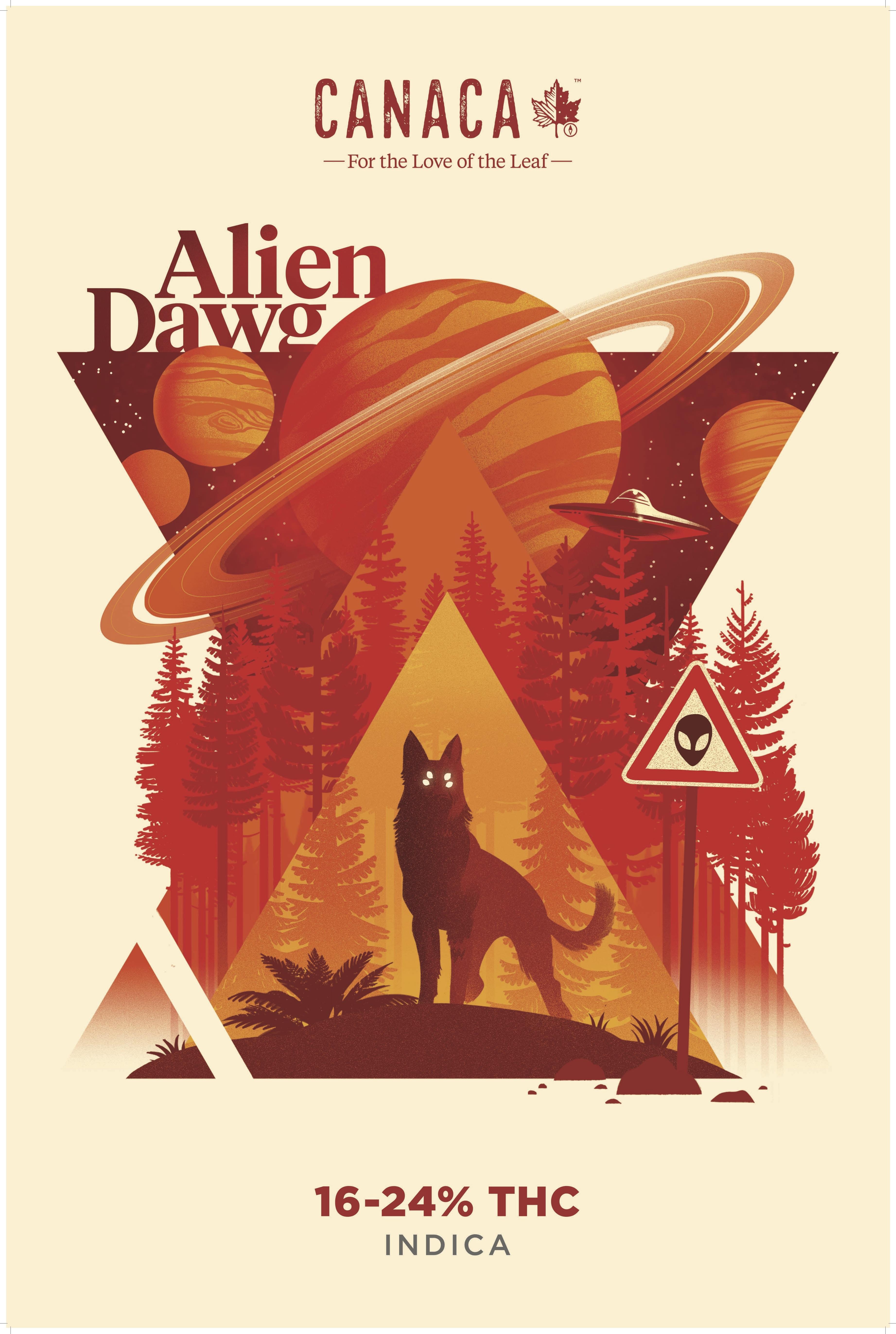 canaca- alien dawg