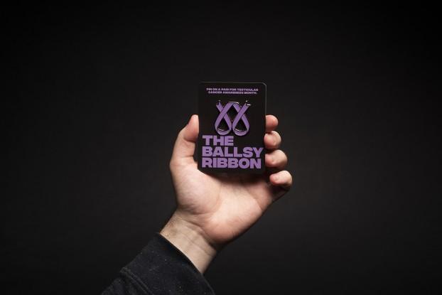 ballsy ribbon - hand